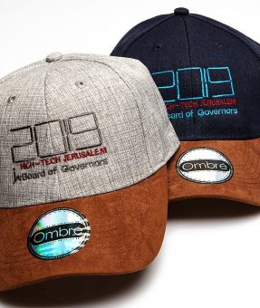 כובע איכותי עם רקמה של לוגו