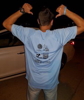 חולצת ספורט מודפסת