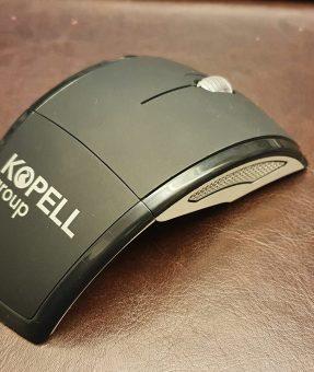 הדפסה על עכבר מחשב