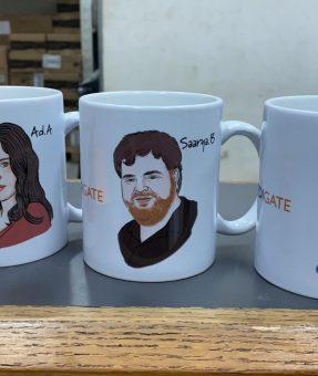 כוסות קפה מודפסים