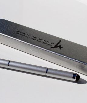 עט עם סמן לייזר כולל הדפסה