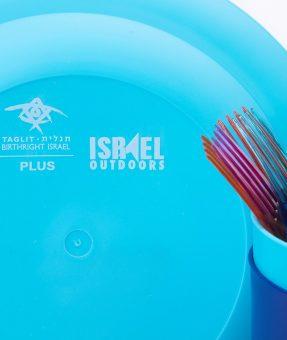 סט כלים פלסטיק ממותגים
