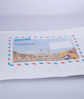 מעטפת פצפץ עם הדפסה