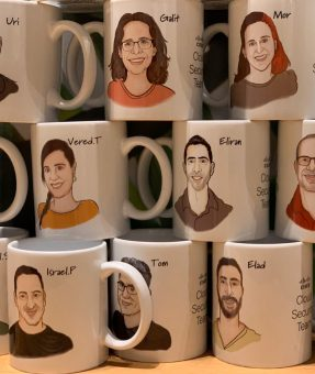 הדפסה על כוסות קפה