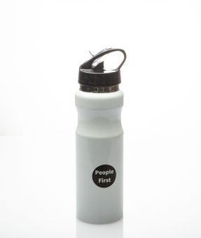 בקבוק עם הדפסה